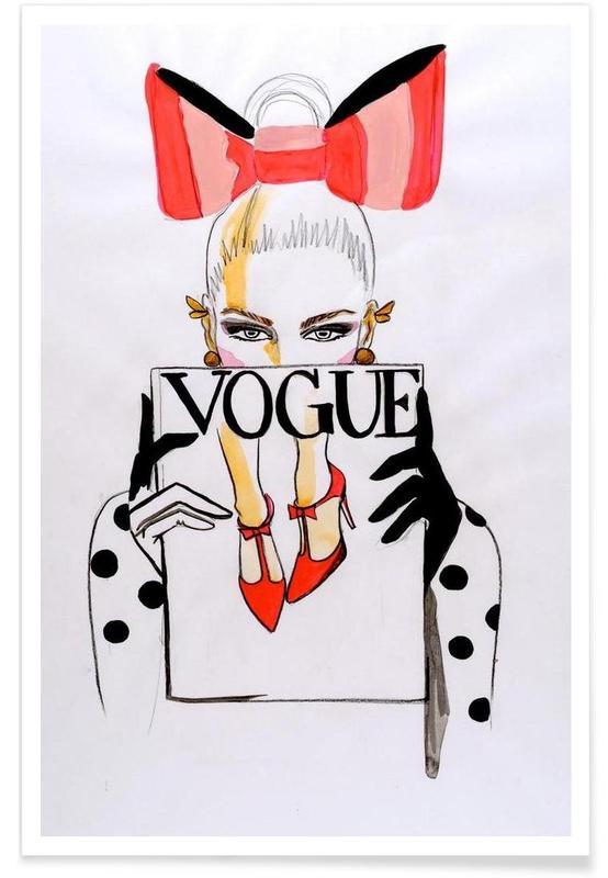 High quality Canvas print Unframed Vogue Fashion Art