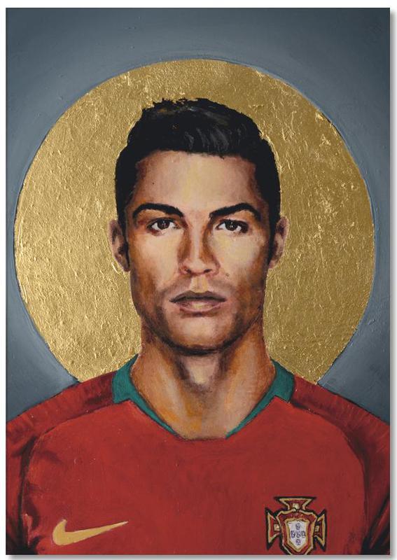 Football Icon Cristiano Ronaldo bloc notes