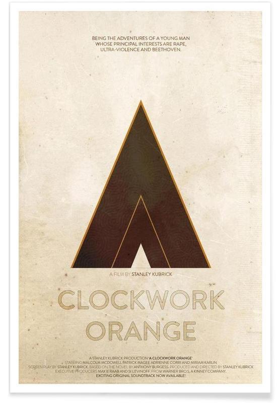 A Clockwork Orange Poster Juniqe