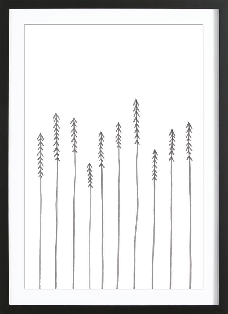 Bild Bäume Pine Forest von JUNIQE - Künstler: KRUTH DESIGN | Dekoration > Bilder und Rahmen > Bilder | JUNIQE