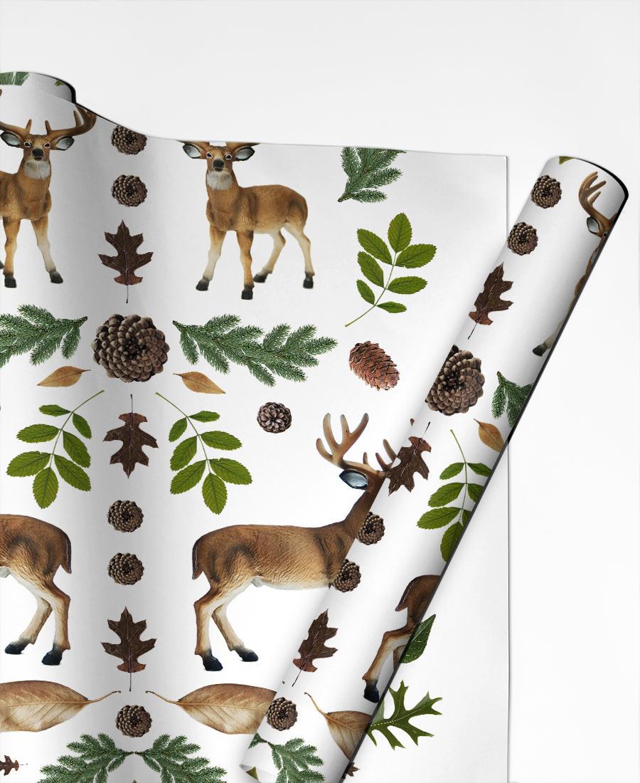 Geschenkpapier Weihnachten Winterland 03 von JUNIQE | Weihnachten > Geschenkideen | JUNIQE