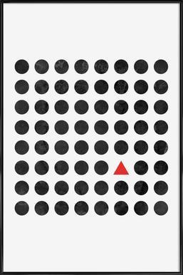 Minimalism 2 - Affiche sous cadre standard