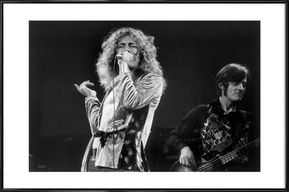 ROBERT PLANT LED ZEPPELIN CANVAS WALL ART PICTURES PRINTS FREE FAST UK DELIVERY