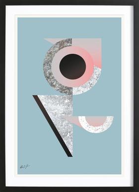 BAU2 - Poster in Wooden Frame