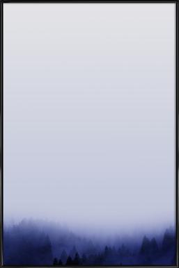 Bluescape 1 - Affiche sous cadre standard