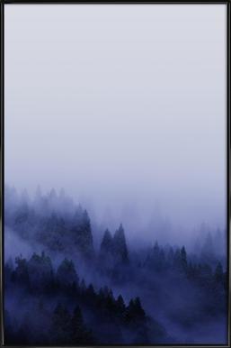 Bluescape 2 - Affiche sous cadre standard