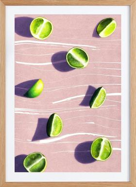 Fruit 10 - Poster in Wooden Frame