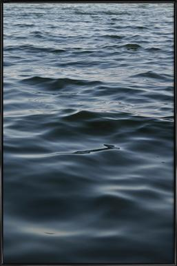 Feet In The Water - Poster in Standard Frame