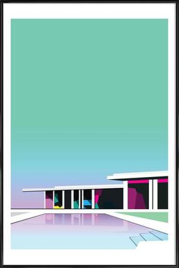 Less than zero - Poster in Standard Frame