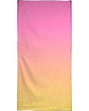Peachy Peach Beach Towel Juniqe