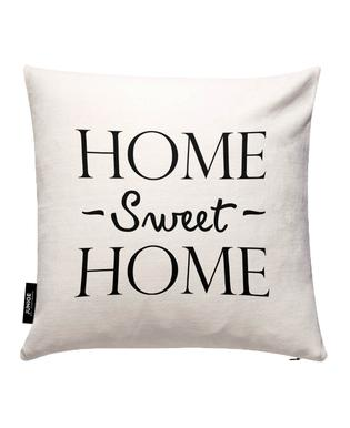 Home Sweet Home Cushion Cover Juniqe