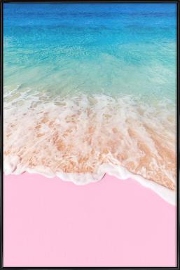 Pink Sand - Affiche sous cadre standard