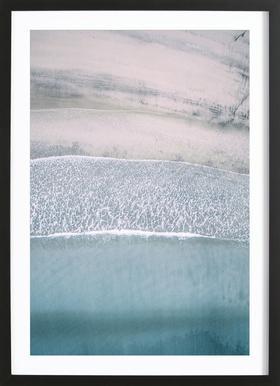 Lofoten Walks - Poster in Wooden Frame