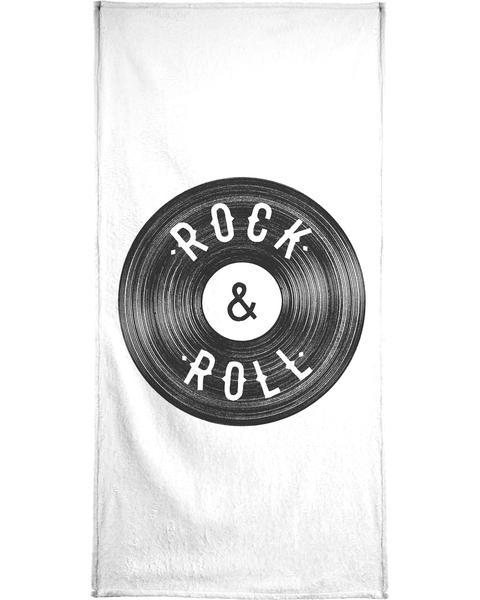 Rock Roll Shower Curtain Juniqe