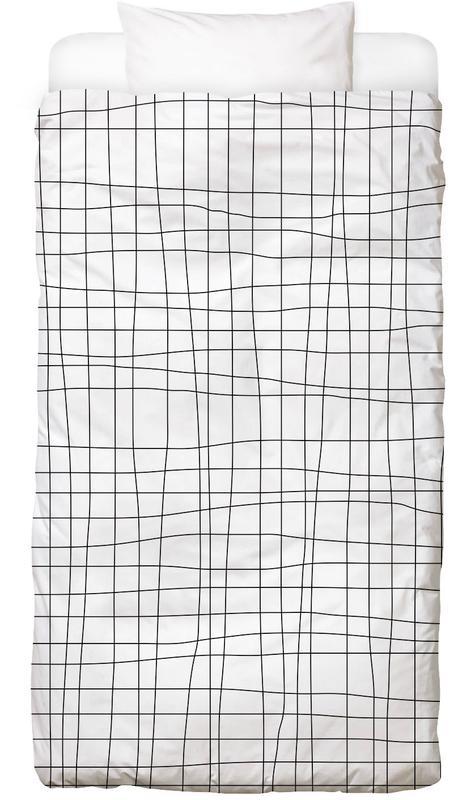 Grid Bed Linen Juniqe