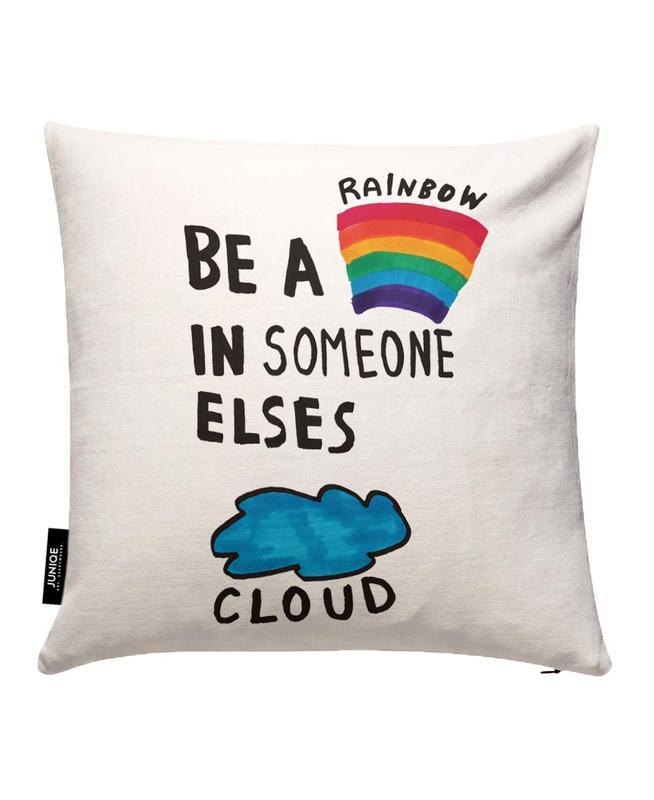 Be A Rainbow Kissenbezug
