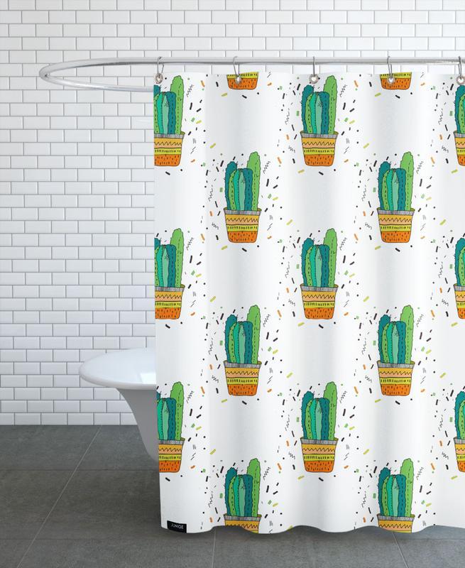 Cacti Cactus Shower Curtain