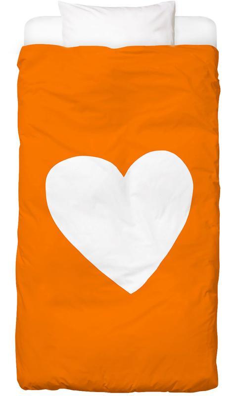 Cœurs, Anniversaires de mariage et amour, Saint-Valentin, Autumn Heart housse de couette enfant