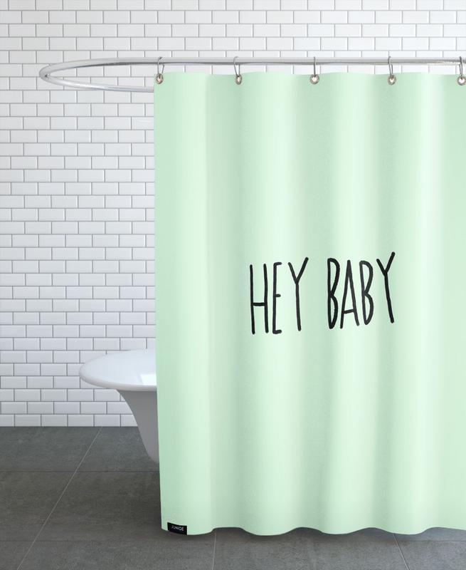 Hey Baby Shower Curtain