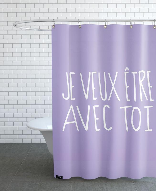 Je Veux Shower Curtain