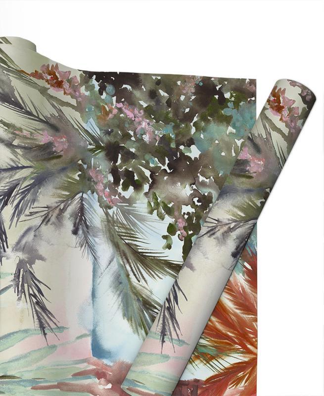 Feuilles & Plantes, The Tropics papier cadeau