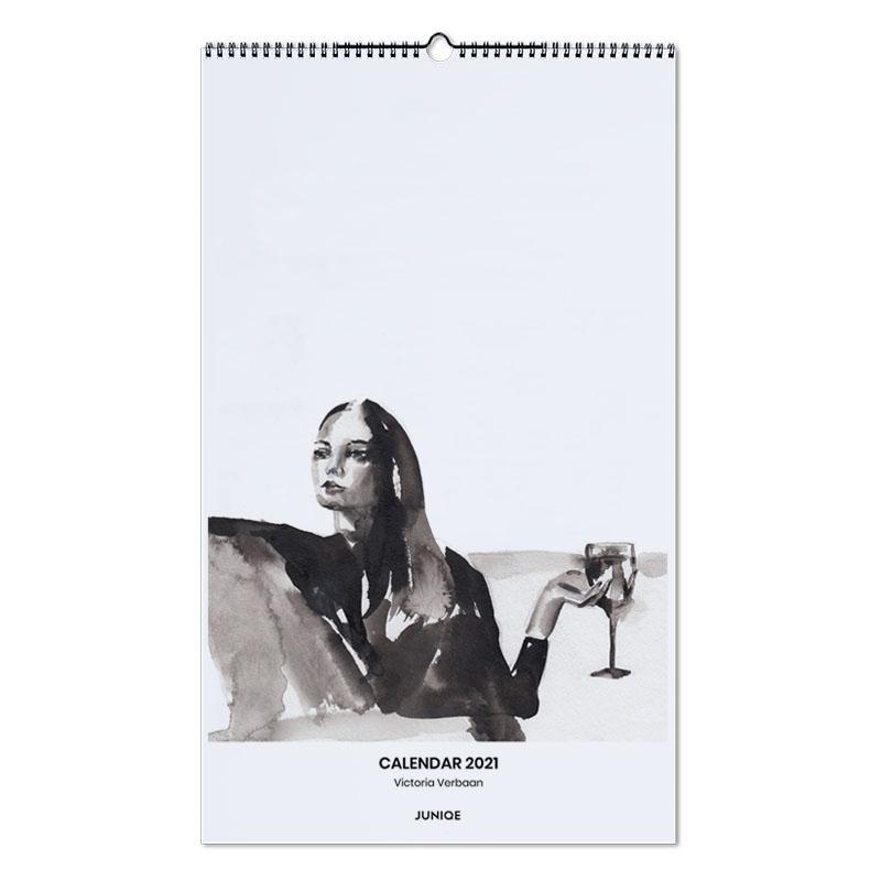, Calendar 2021- Victoria Verbaan calendrier mural