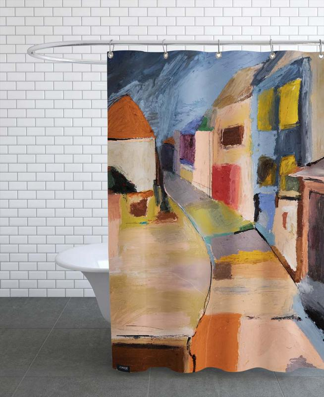 Architectural Details, Abstract Landscapes, Cagnes Sur Mer France Shower Curtain
