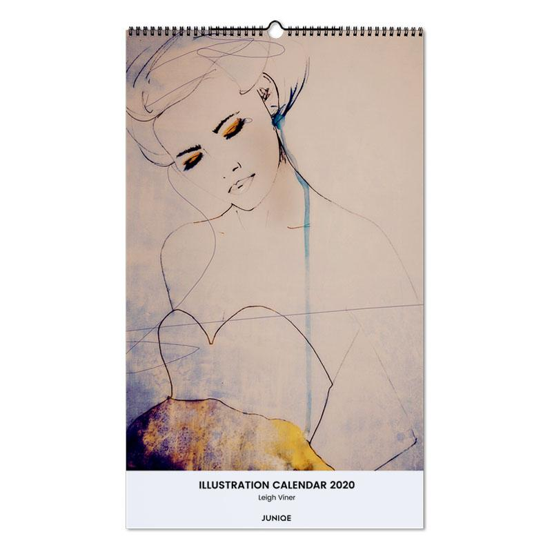 Illustration Calendar 2020 - Leigh Viner -Wandkalender