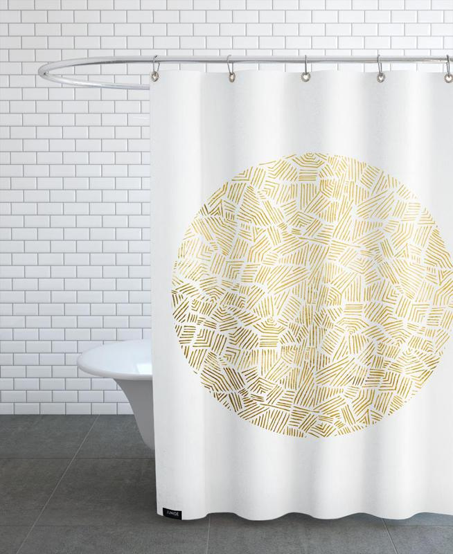 Inca Sun Shower Curtain
