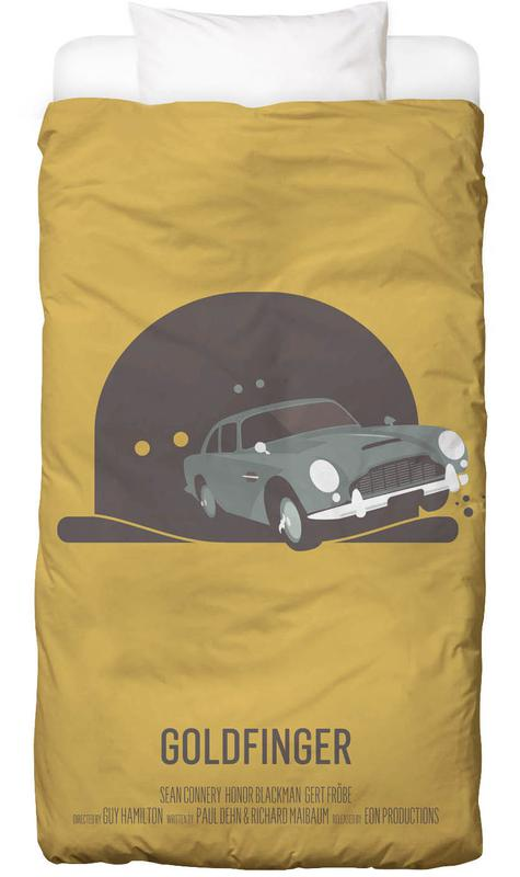 Movies, Cars, Goldfinger Kids' Bedding