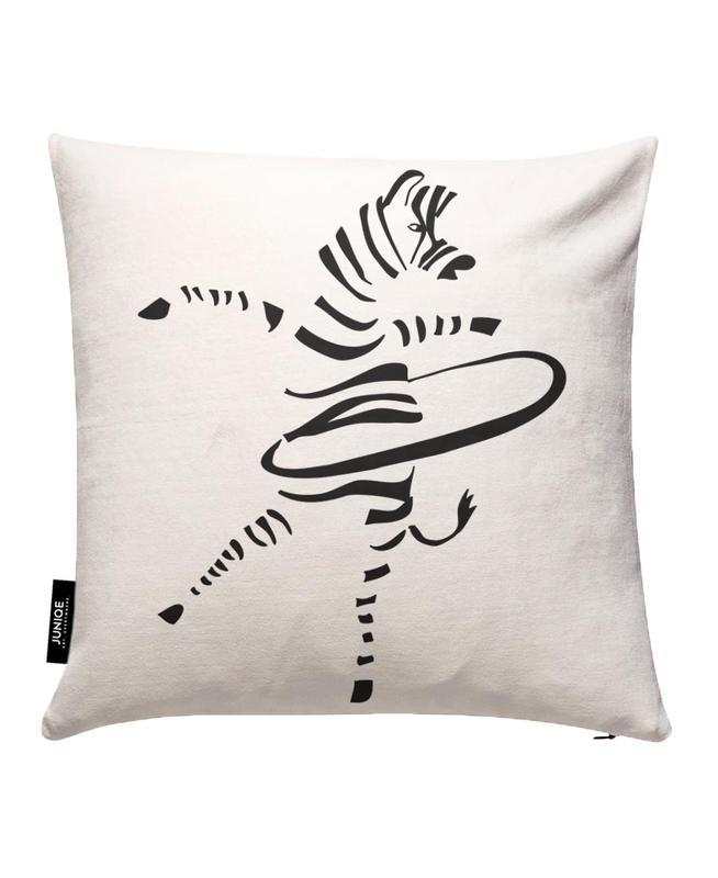 Hula-Hoop Zebra Cushion Cover