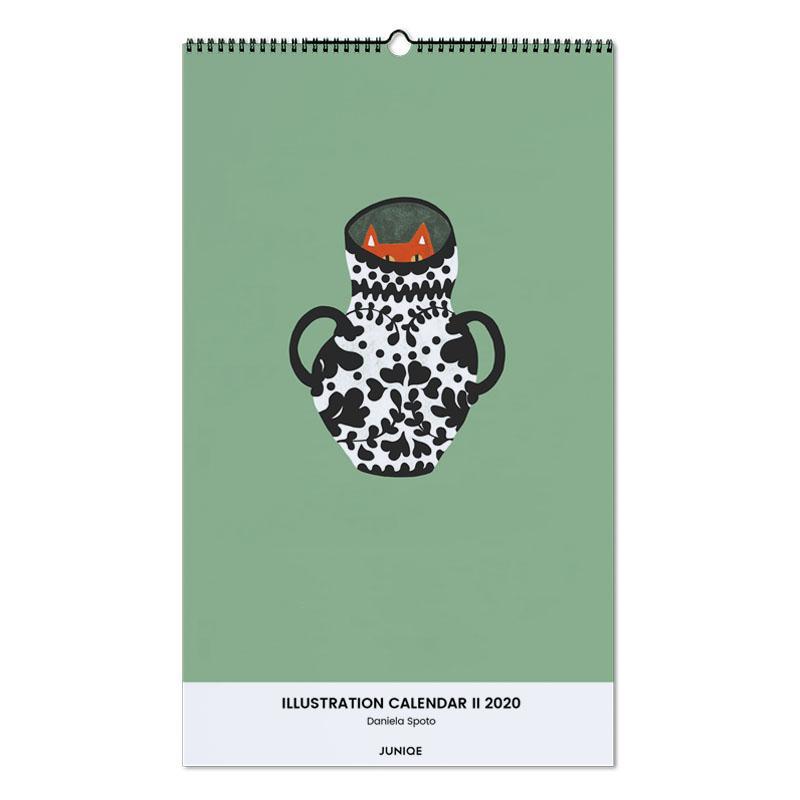 Illustration Calendar II 2020- Daniela Spoto calendrier mural