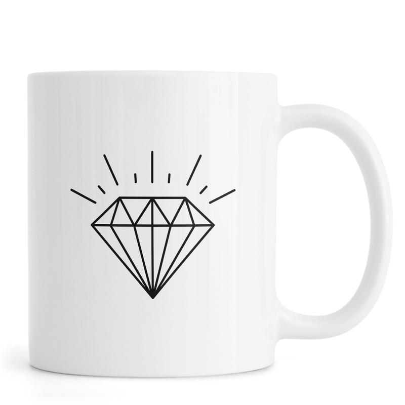 Symbole, Diamond -Tasse