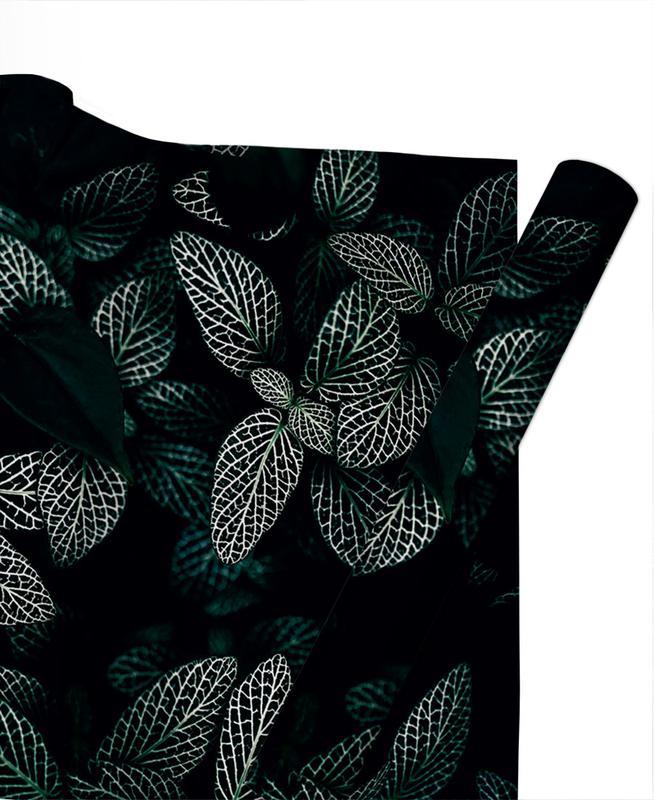 Dark Leaves 3 Gift Wrap