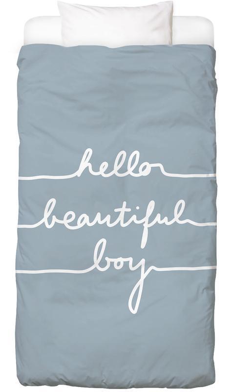 Hello Beautiful Boy -Kinderbettwäsche