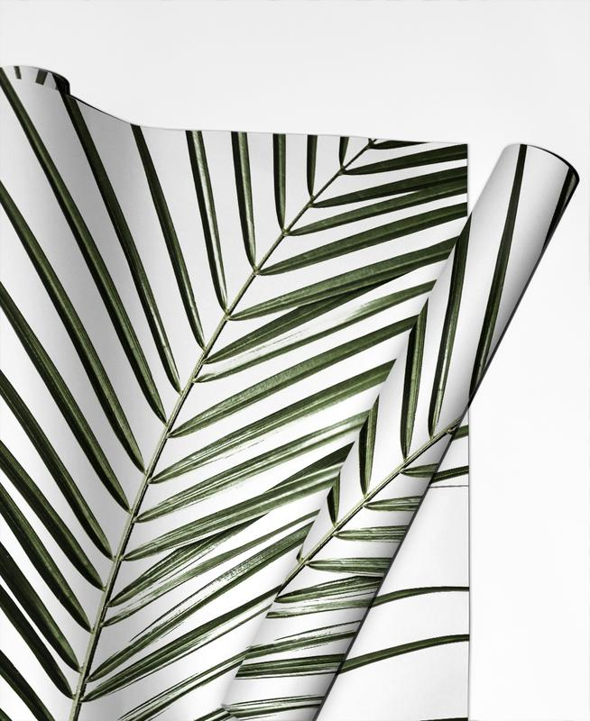 Palm Leaves 8 -Geschenkpapier
