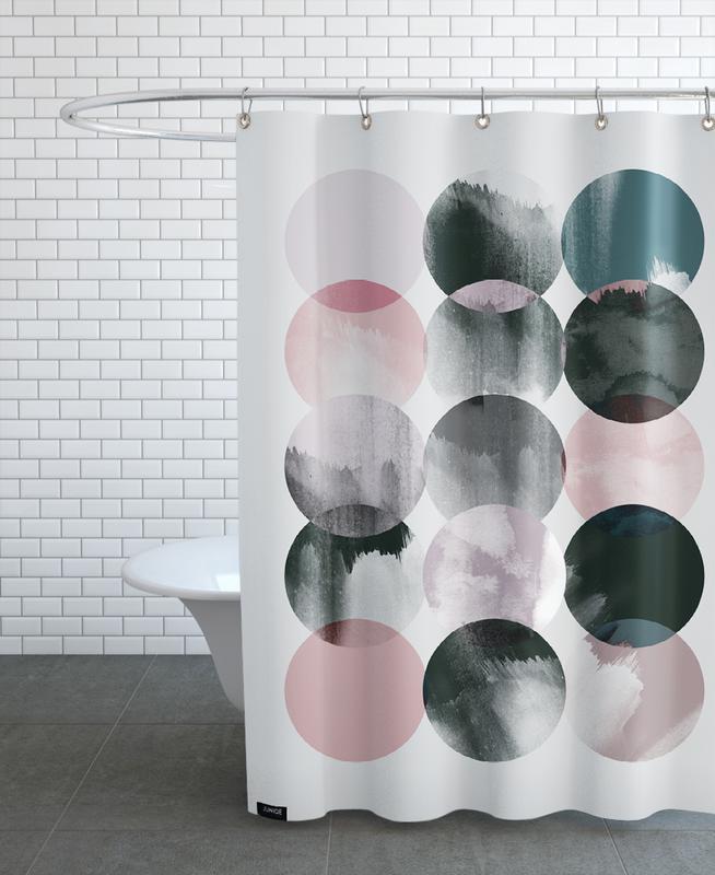 Minimalism 16 Shower Curtain