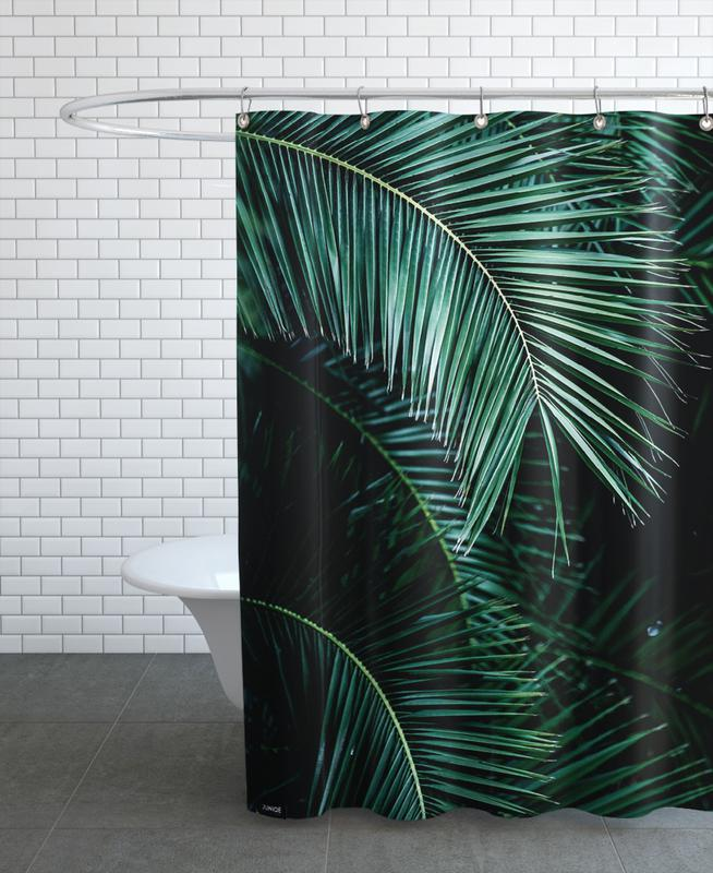 Palm Leaves 9 Shower Curtain