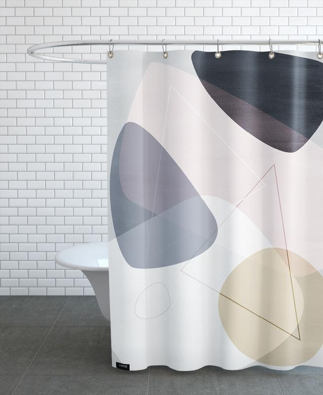 Graphic 150 B Shower Curtain