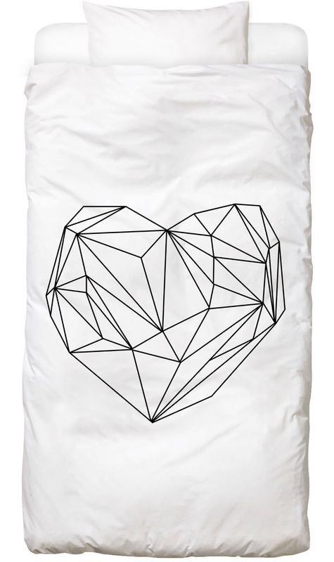 Heart Graphic Bed Linen