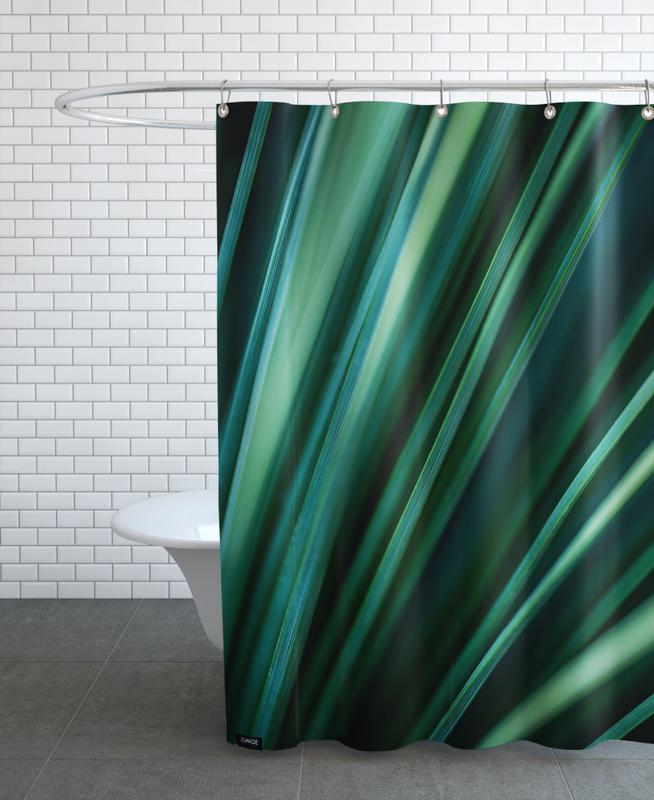 Green Straws 2 -Duschvorhang