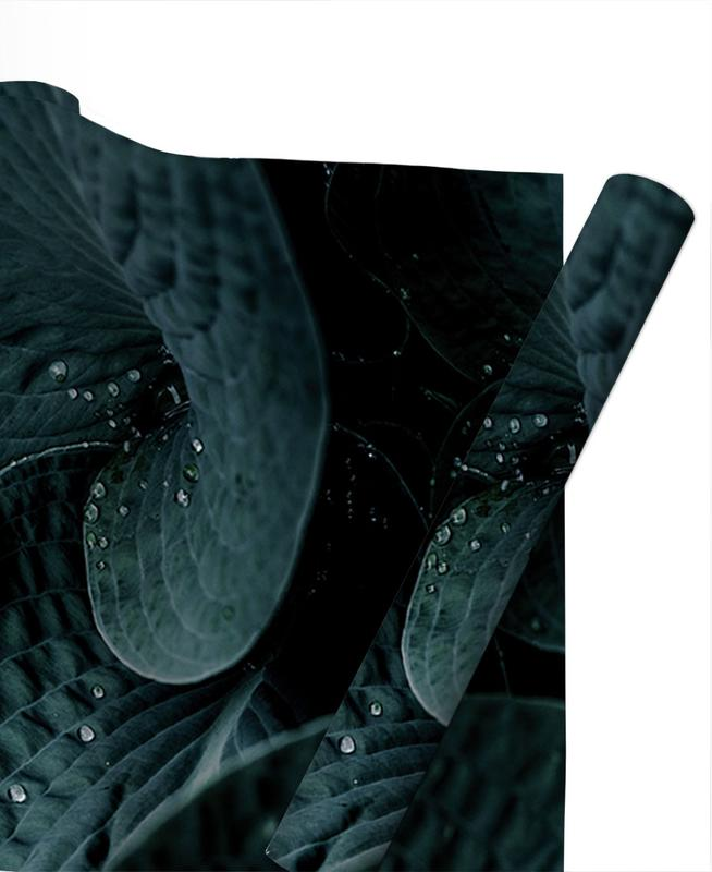 Feuilles & Plantes, Dark Leaves 5 papier cadeau