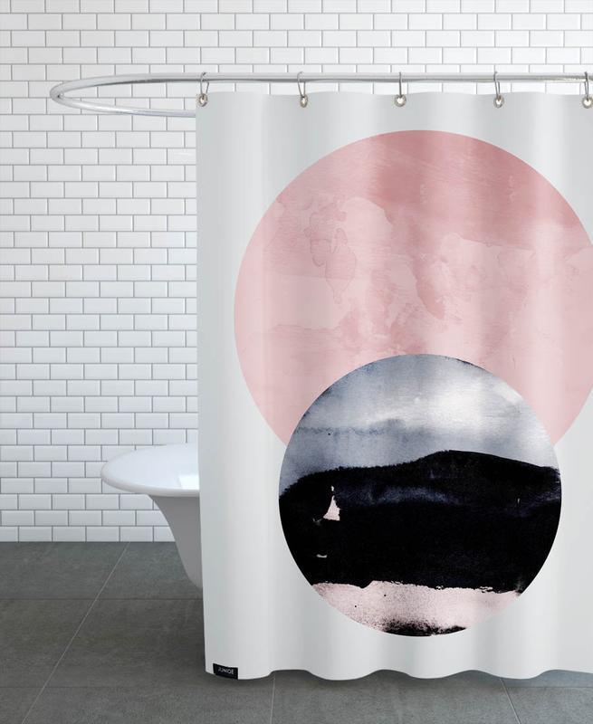 Minimalism 31 Shower Curtain