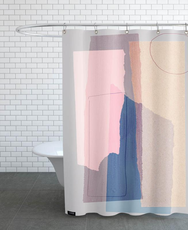 Pieces 5A Shower Curtain