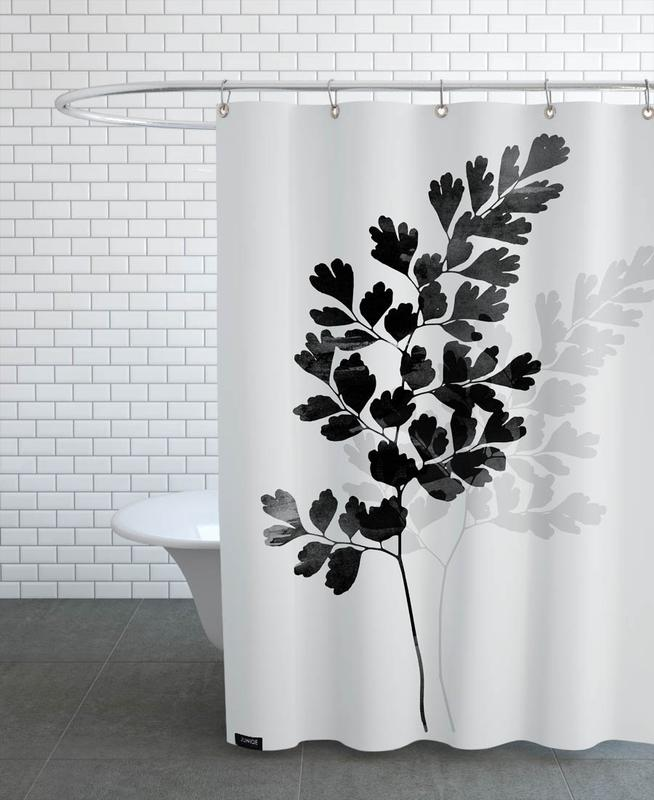 Watercolor Leaves 14 Shower Curtain