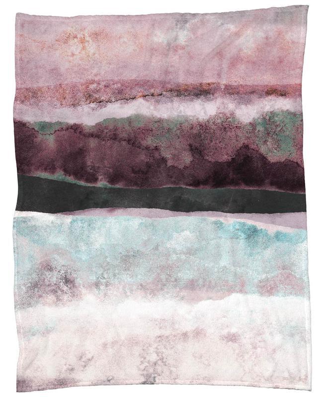 Watercolors 24 -Fleecedecke