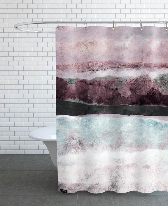 Watercolors 24 Shower Curtain
