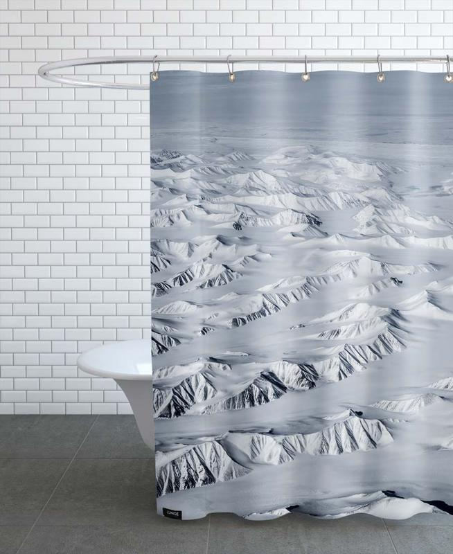 Mountains, Travel, From Above 1 Shower Curtain