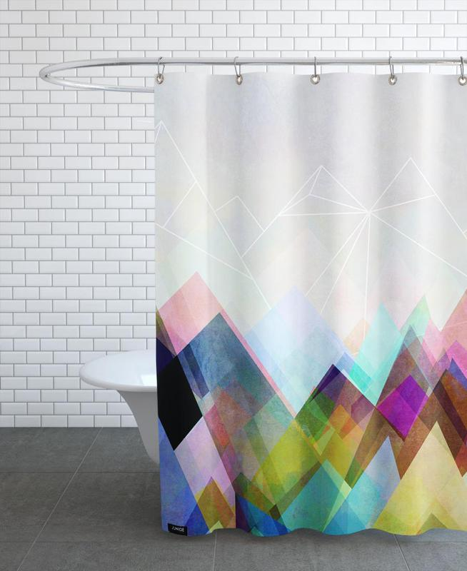 , Graphic 104 Shower Curtain