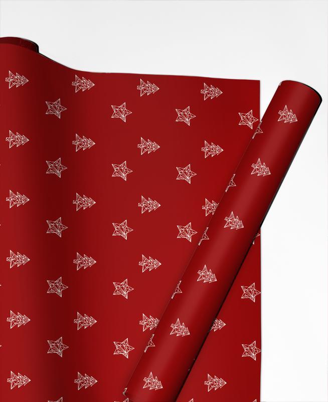 Baum Stern 1 Gift Wrap